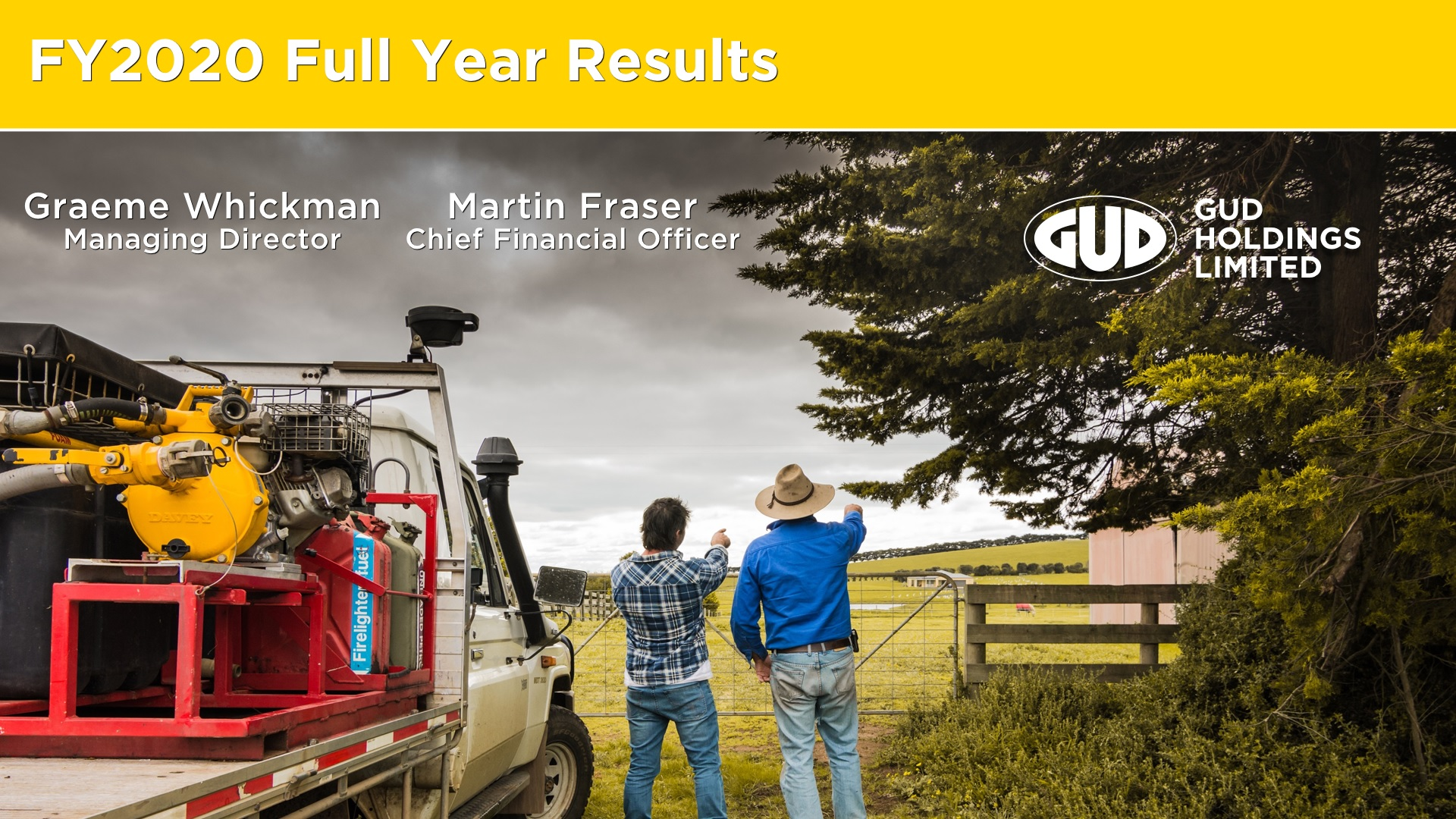 GUD Holdings Limited FY20 Full Year Results Presentation