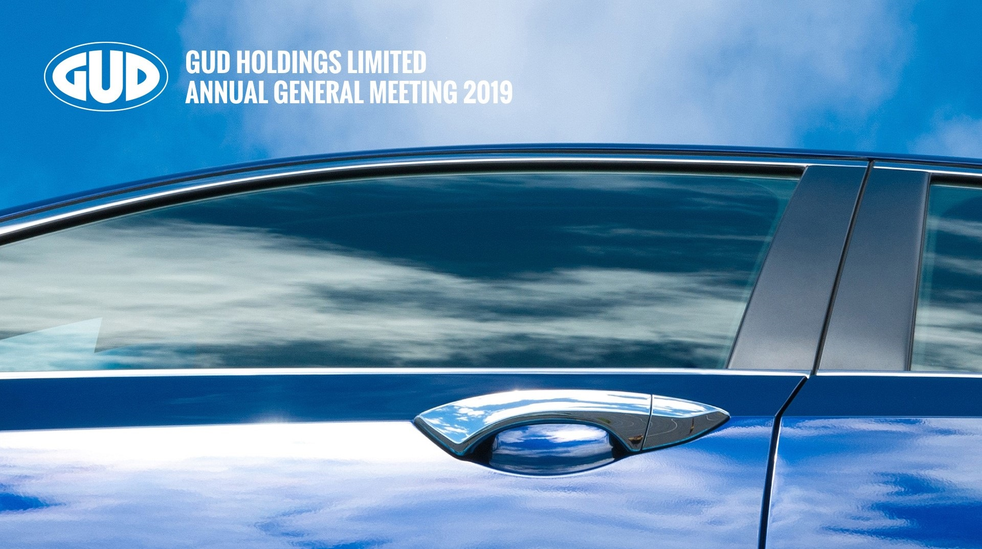GUD Holdings Limited FY19 Annual General Meeting